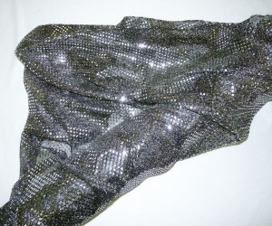"""45"""" Silver Sequins"""