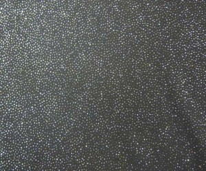 "60"" navy blue sheer rayon with silver light blue allover rhinestones"
