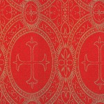 church_fabric_red_gold_metallic