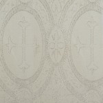 church_fabric_white_silver_metallic