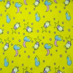 "45"" 100% cotton flannel yellow"